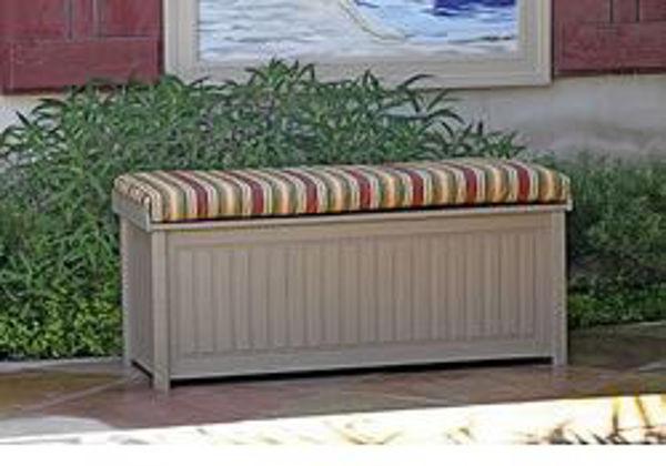 Patio Store. Eagle One - Brisbane Cushioned Top Deck Box