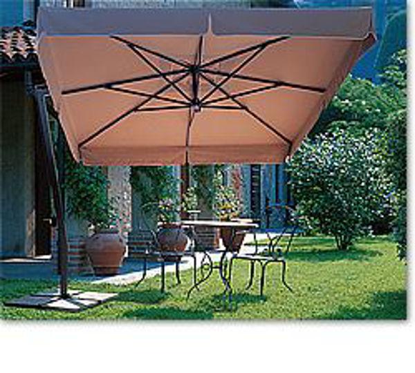 Picture of FIM Aluminum 9.5 ft. Square Offset Patio Umbrella - C09