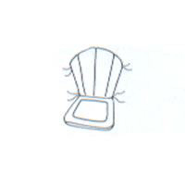"""Picture of Barrel Chair Cushion 20"""" x 32"""""""