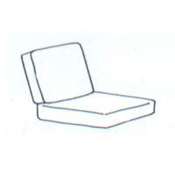 Picture of 2 Piece Lounge Chair Cushion