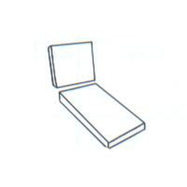Picture of 2-Piece Chaise Seat & Back Cushion