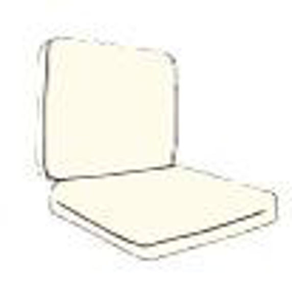 Picture of 2 pc. Chair (CUS80) AM25 Cushion