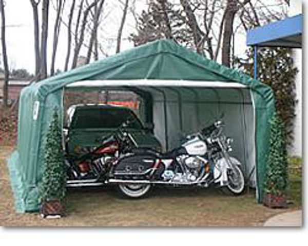 Picture of MDM Rhino Shelters 12 x 24 x 8 Extended Portable Garage