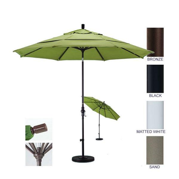 Picture of California Umbrella 9 ft. Collar Tilt Aluminum Market Umbrella GSCU