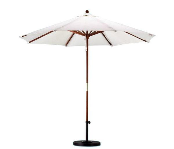 Picture of California Umbrella 9 ft. Wood Market Umbrella SOW 908
