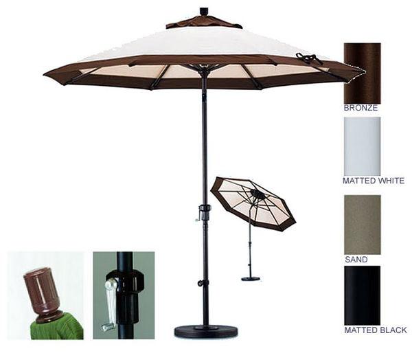 Picture of California Umbrella 7.5' ft. Push Tilt Aluminum Market Umbrella GSPT