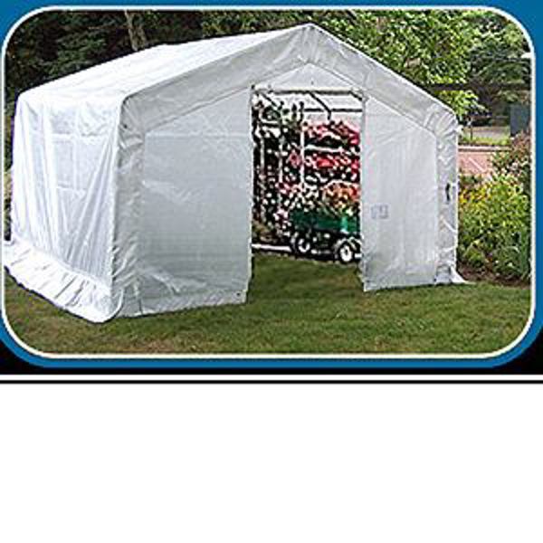 Picture of MDM Rhino Shelter 12' x 12' x 8' Greenhouse Shed