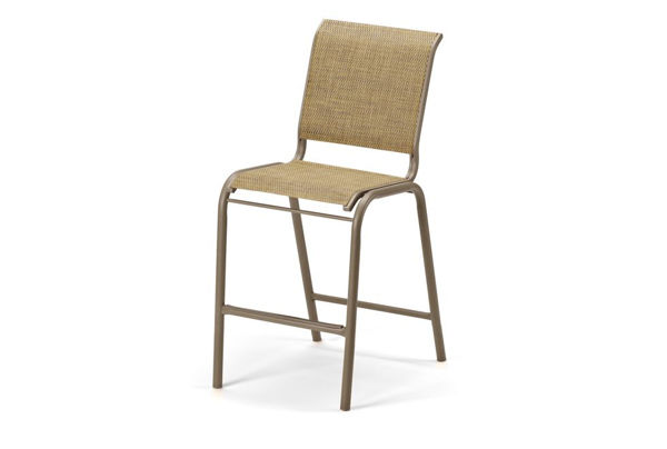 Picture of Telescope Casual Reliance Contract Sling, Balcony Height Stacking Armless Chair