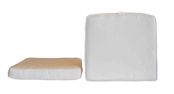 Picture of Bellini Home and Gardens Sunbrella Designer Seat Cushions-Box/Double Piping 2 Pk