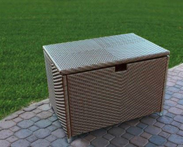 Picture of Tortuga Outdoor Stonewick Storage Box