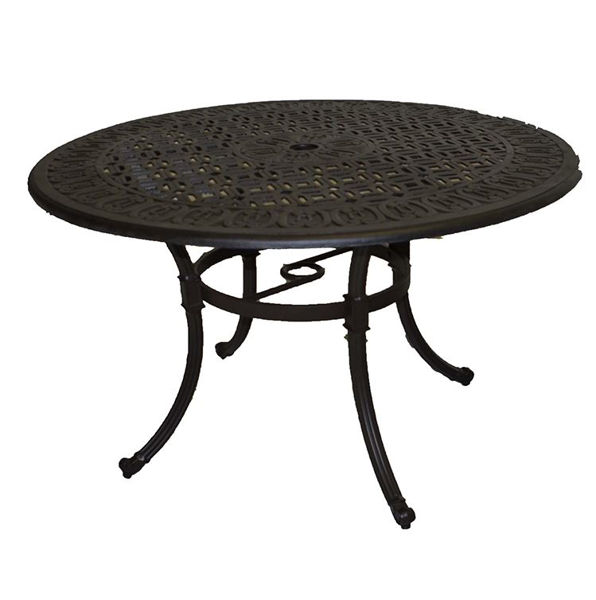 Patio Store Paragon Casual Royal Monaco 48 Round Dining Table Pack Of 1