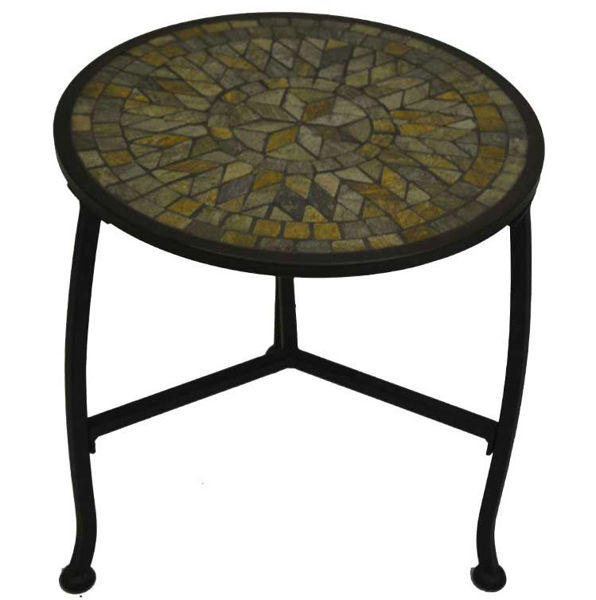 Picture of Paragon Casual Aspen 18' X 18' Accent End Table Single Tier