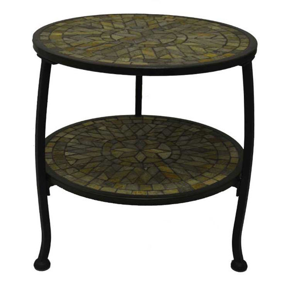 Picture of Paragon Casual Aspen 18' X 18' Accent End Table Double Tier