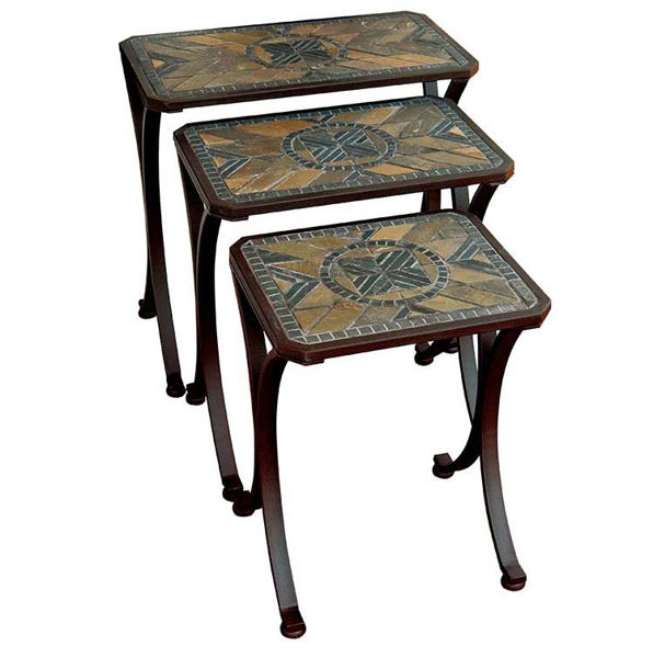 Picture of Paragon Casual Berkshire Nesting Table Set