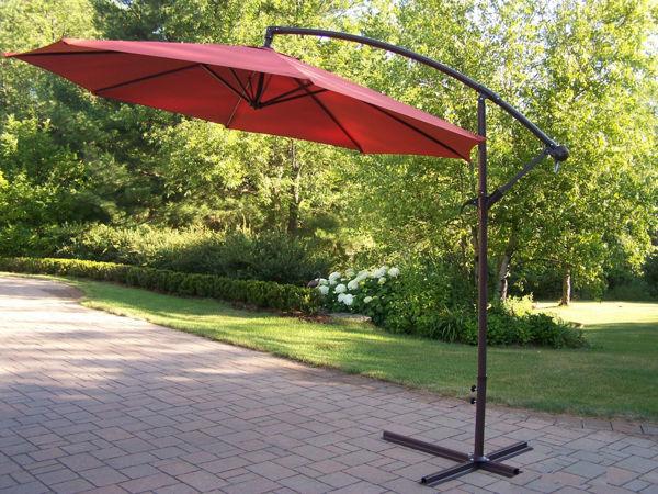Picture of 10 Ft Cantilever Umbrella - Burnt Orange