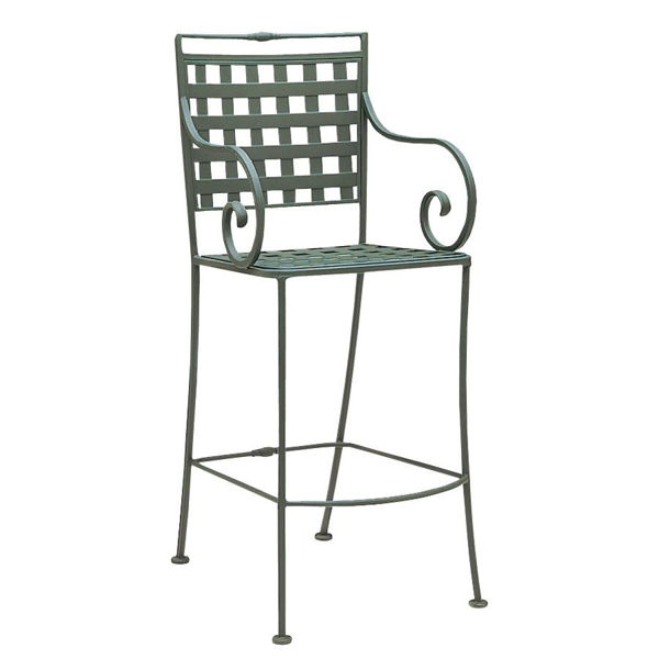 Picture of Woodard Sheffield Stationary Bar Stool
