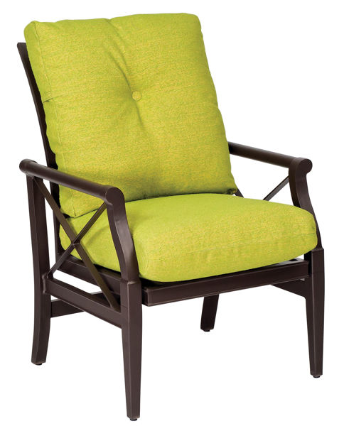 Picture of Woodard Andover Cushion Rocking Dining Arm Chair