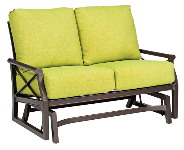 Picture of Woodard Andover Cushion Gliding Love Seat