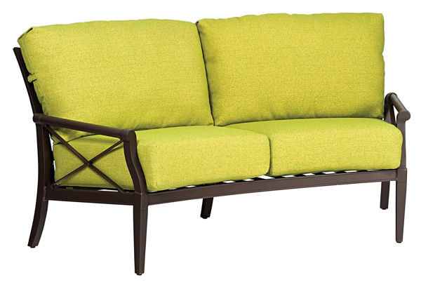 Picture of Woodard Andover Cushion Crescent Love Seat