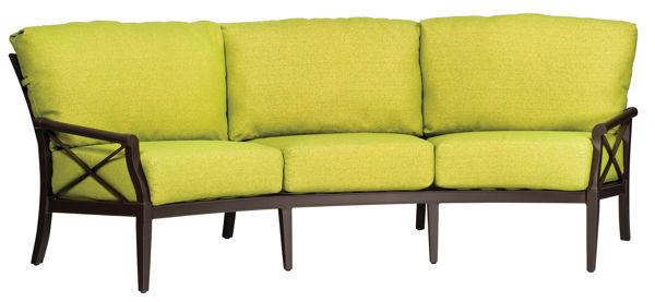 Picture of Woodard Andover Cushion Crescent Sofa