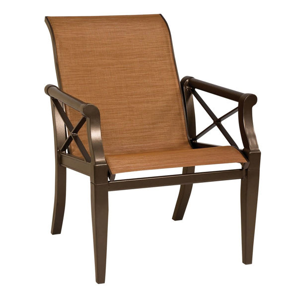 Picture of Woodard Andover Sling Dining Arm Chair