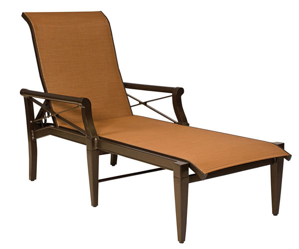 Picture of Woodard Andover Sling Adjustable Chaise Lounge