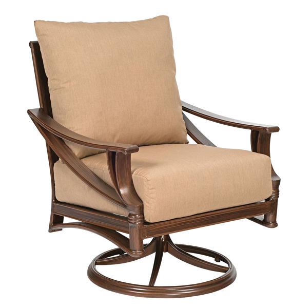 Picture of Woodard Arkadia Cushion Swivel Rocking Lounge Chair