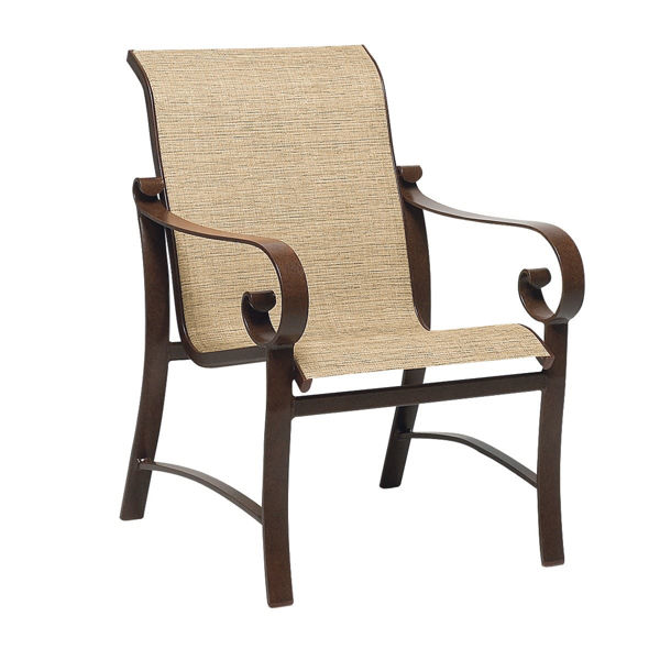 Picture of Woodard Belden Sling Dining Arm Chair