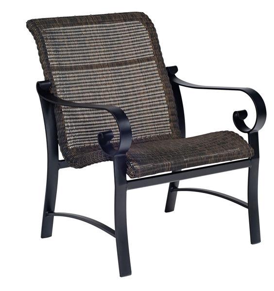 Picture of Woodard Belden Woven Lounge Chair