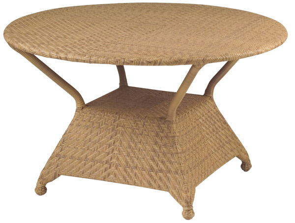 """Picture of Woodard Boca 48"""" Round Dining Table"""