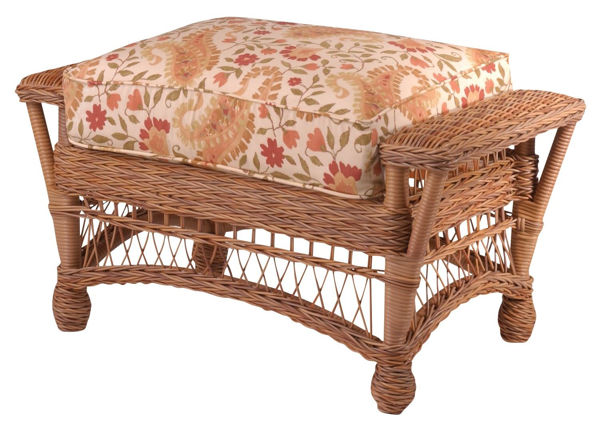 Picture of Woodard Cottage Ottoman