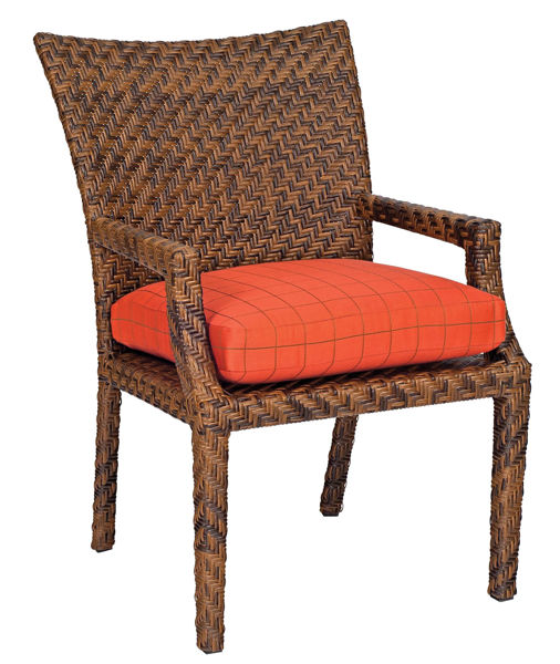 Picture of Woodard Domino Dining Arm Chair
