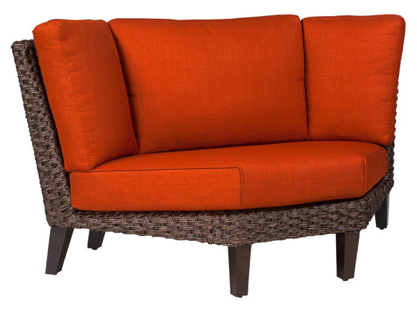 Picture of Woodard Mona Wedge Sectional