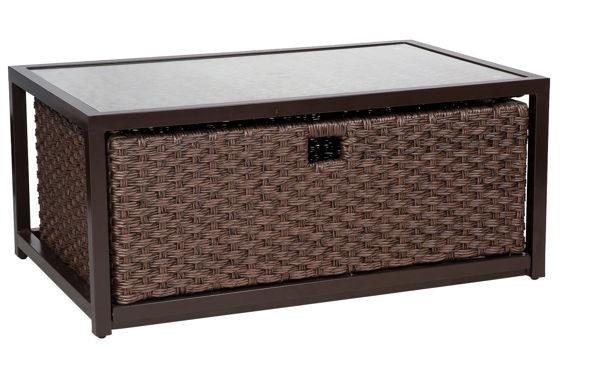 Picture of Woodard Mona Coffee Table with Drawer