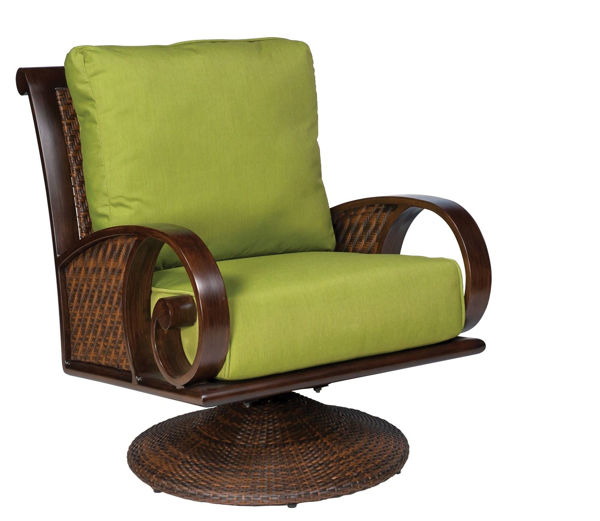 Picture of Woodard North Shore Swivel Rocking Lounge Chair