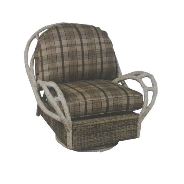 Picture of Woodard River Run Swivel Butterfly Lounge Chair