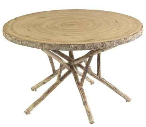 Picture of Woodard River Run Birch Heartwood Dining Table