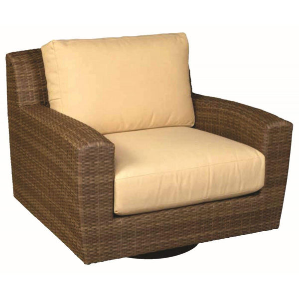Picture of Woodard Saddleback Swivel Lounge Chair