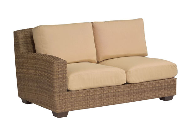 Picture of Woodard Saddleback LAF Love Seat Sectional