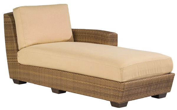 Picture of Woodard Saddleback RAF Chaise Lounge Sectional