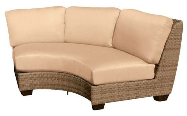 Picture of Woodard Saddleback Curved Sectional Unit