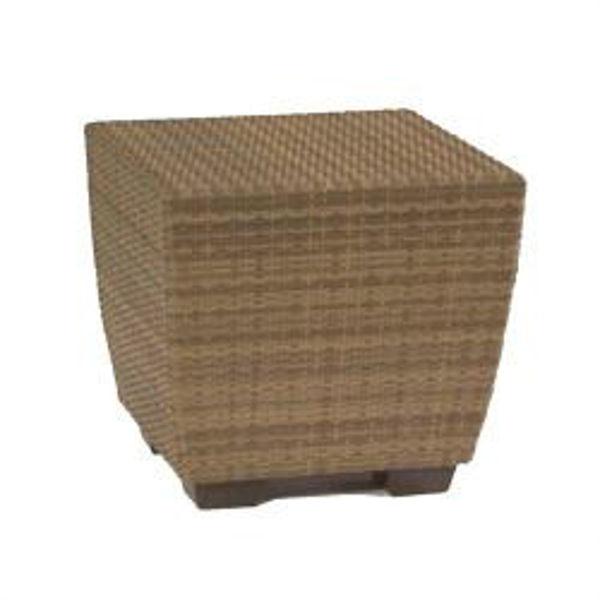 Picture of Woodard Saddleback Bunching Table