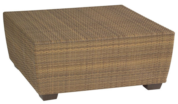 Picture of Woodard Saddleback Square Coffee Table