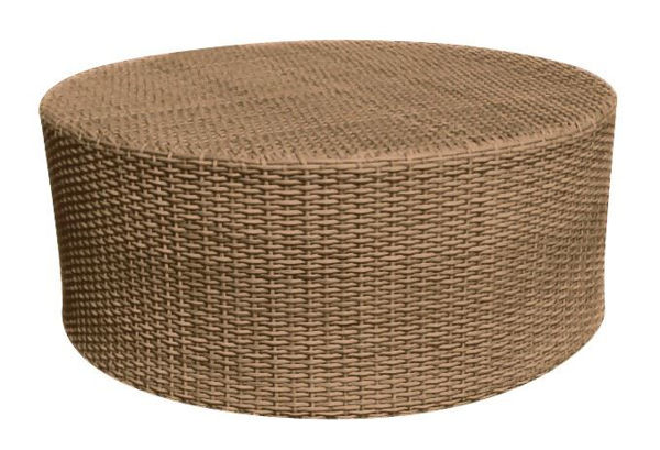 Picture of Woodard Saddleback Round Coffee Table