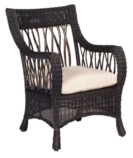 Picture of Woodard Serengeti Dining Arm Chair