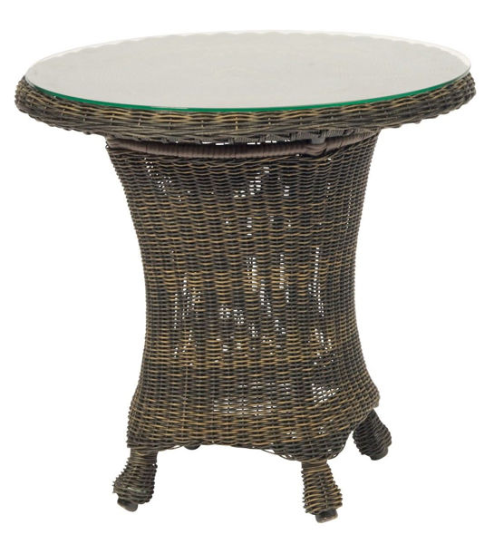 Picture of Woodard Serengeti End Table with Glass Top