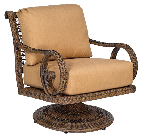 Picture of Woodard South Shore Swivel Rocking Lounge Chair