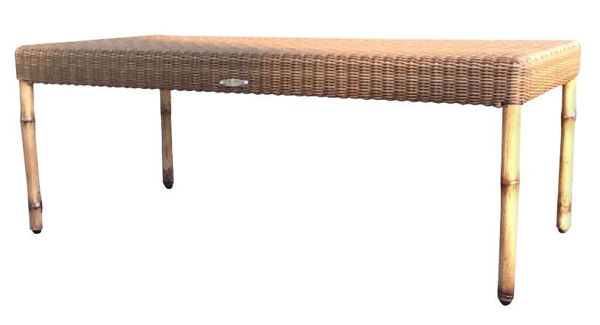 Picture of Woodard South Terrace Woven Rectangular Coffee Table