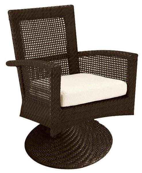 Picture of Woodard Trinidad Swivel Rocker Dining Chair