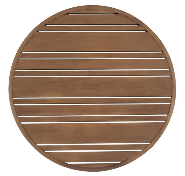Picture of Woodard Extruded Aluminum Tri-Slat 22 Round Table Top